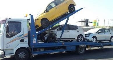 הובלת רכבים לפירוק